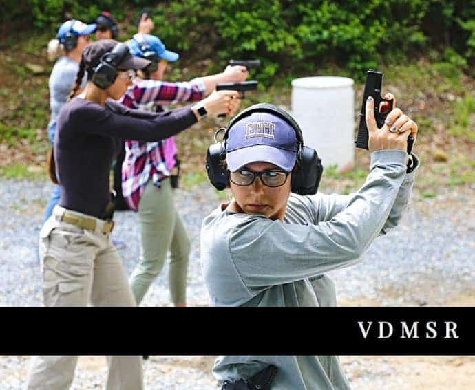 AAR Womens Shooting Defense Course VDMSR